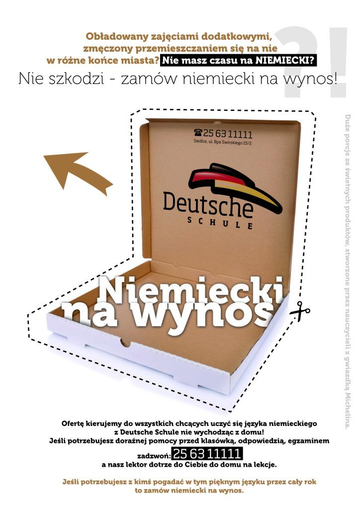 plakat A3 na wynos